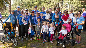 Donate to a Tot Trot Team